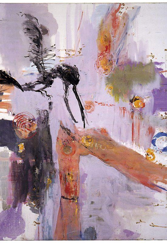3 peintur oiseau