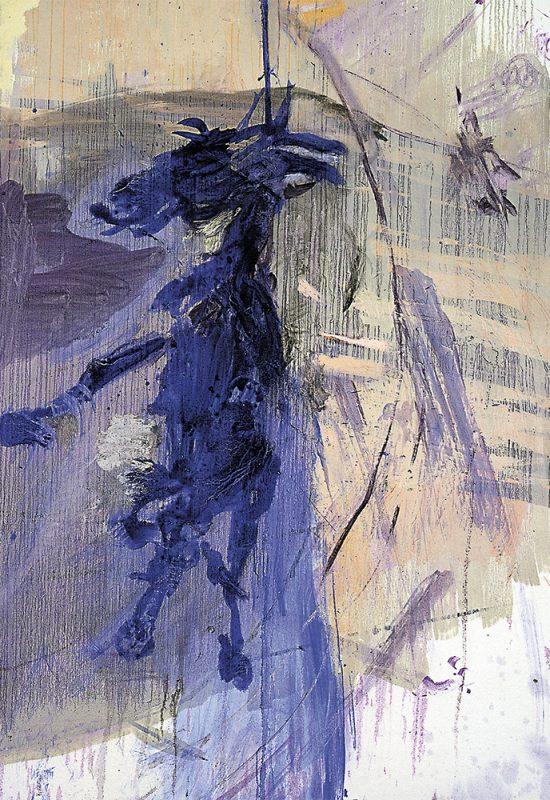 4 Peinture chèvre